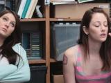 Jojo Kiss and Rylee Rene take turns on bouncing a cock