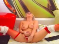 Lustful Hot tgirl Faps her dick   Porn-Update.com
