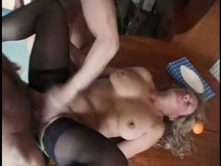 Sex Movie of Dirty Granny Loving Her Holes Jammed