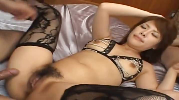 Porno Video of Sexy Chinese Anal Fucking With Lingerie