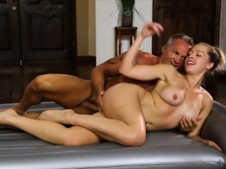 sexy masseuse zoey monroe anal slammed by her horny client