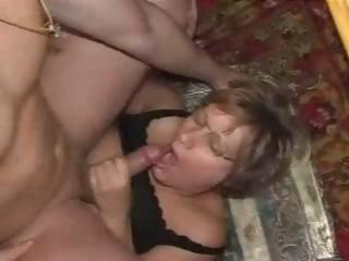 Sex Movie of Mature German Slut Lucky With Stud