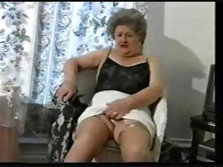 Porn Tube of Teasing Old Granny In Stockings