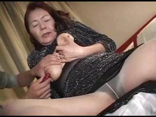 Porno Video of Fantastic Asian Granny