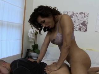 bossy tranny goddess cumdrops after roughsex