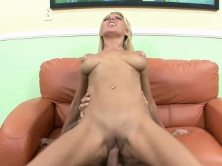 niki blonde gets pounded with a stiff cock