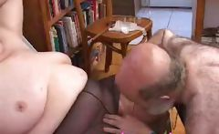 Nana Funk Pussy Licked And Blows Old Coc...