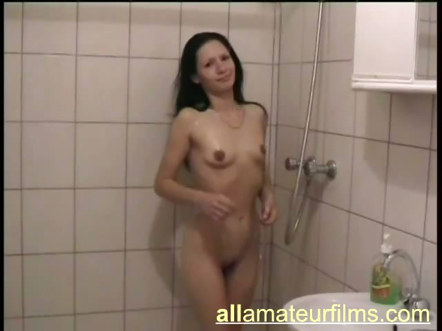 Porn Tube of Pretty European Amateur Brunette