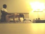 Secret hidden cam in bathroom
