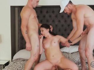 three big cocks for angela muse's hot sexy body