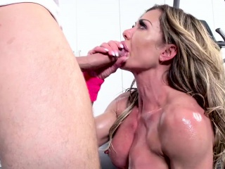 brazzers - big wet butts -  ninas workout sce