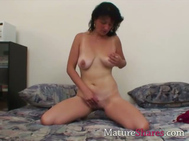 Porn Tube of Old Horny Wife Using Her Adult Toy