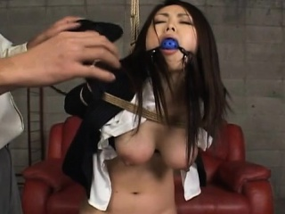 hawt angel gets anal stimulation with toys in xxx show