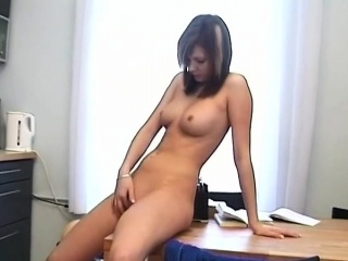 stud with massive rod gets sucked and ridden by a schoolgirl