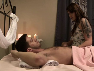 sexy tranny aspen have sex after massage