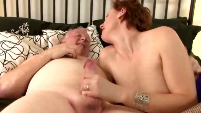 Porn Tube of Mature British Lady In Stockings Fucks And Sucks Trucker