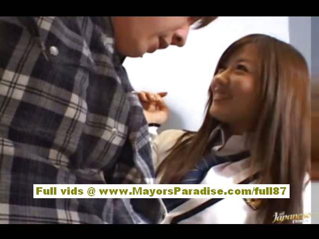Porn Tube of Miyu Hoshino Naughty Chinese Schoolgirl Enjoys Sucking Cocks