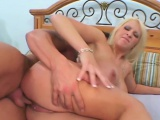 Pornstar wife takes big dick in front of husband