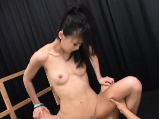 sexy asian babe chick loves a good dick to ruin his puss