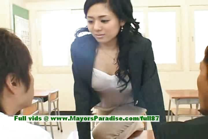 Porno Video of Sora Aoi Innocent Sexy Japanese Student Is Getting Fucked In The Classroom