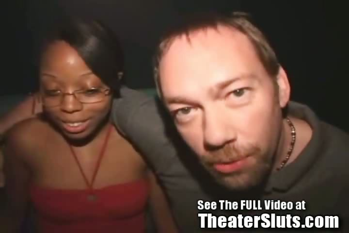 Porno Video of A 19 Year Old Sweet Chocolate Slut Kim Has Never Been To A Porn Theater Before