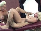 Nikita gets a relaxing massage form Leya