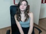 petite teen striptease teasing cam girl