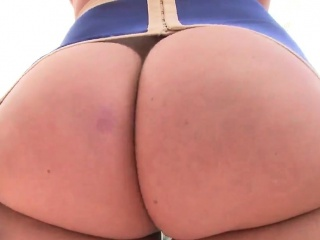 adorable sex kitten shows off big ass and gets fucked asshole