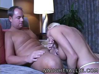 Porn Tube of Naughty Allie Fucking Tommy