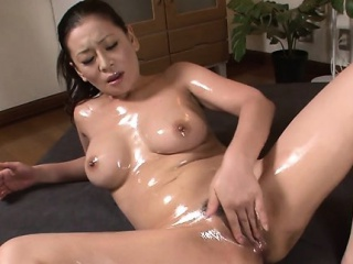 concupiscent japanese slut gets pussy filled with big cock