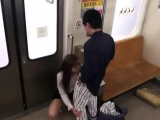 Japanese teen amateur public party