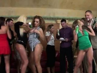 kinky sex party with sweetheart fucked like crazy