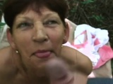 Chubby GILF ass is the best to fuck in doggy style