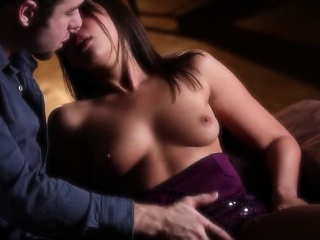 lustful cock lover with tiny tits sucks and fucks like crazy