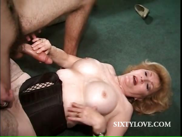 Porno Video of Hot Mom Takes Teen Dick On The Floor
