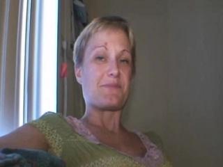 Aging Blond Crack Addicted Street Whore Sucking Dick Pov
