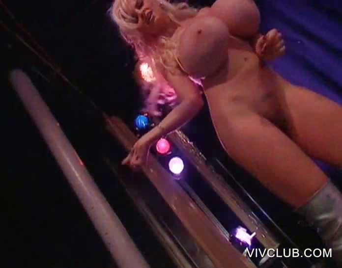 Porno Video of Busty Stripper Dancing Erotically