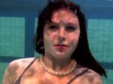 Katya Okuneva bouncing tits in a dress