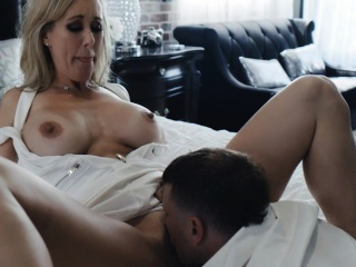 Busty Milf Brandi Love Licked And Banged By The Hard Shaft