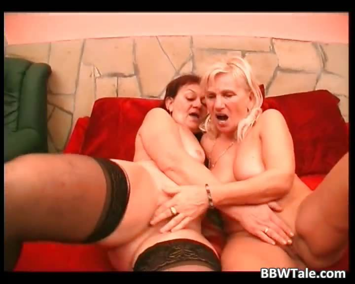 Porn Tube of Two Mature Fat Sluts Have Lesbian Sucks