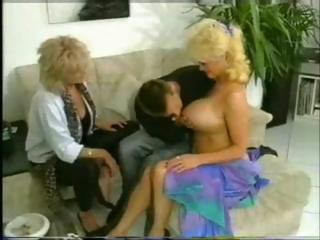 Porn Tube of German Mature Threesome