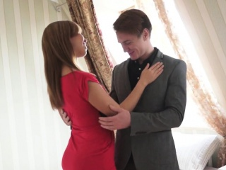 Teen Sex Doll Invites Her Boy To Have Some Pleasure