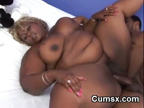 Porn Tube of Fat Ass Ghetto Bbw Sucking Dick