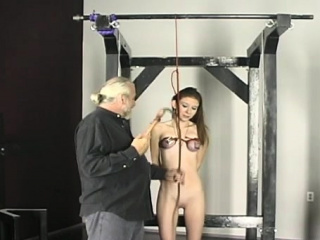 Slavery Of Naked Woman At Home With Horny Dude