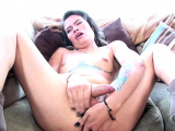 Casting shemale babe fingering her ass