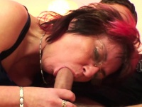 Punky pierced granny loves to sucking and fuck | Porn-Update.com