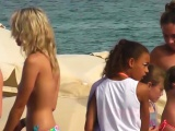 Voyeur Amateur Topless Beach Video
