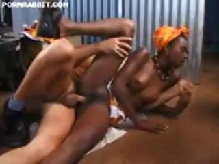 Porn Tube of Hot African Woman