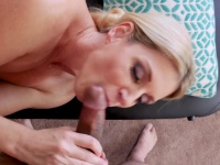 Stepson slipped fingers into stepmoms mature wet pussy | Porn-Update.com