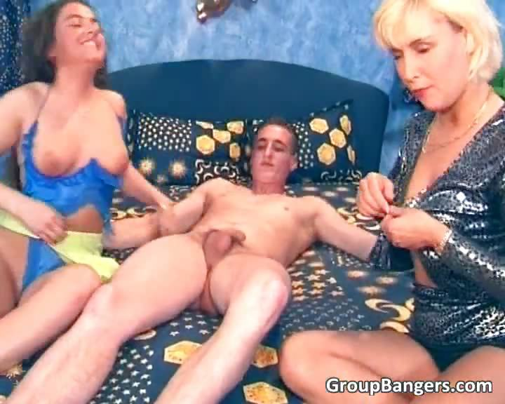 Porn Tube of Blonde And Brunette Sluts Getting Wet